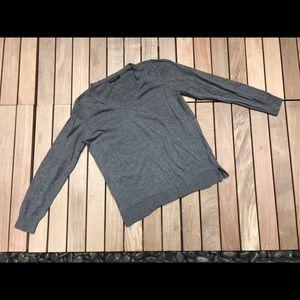 BANANA REPUBLIC Grey Long Sleeve